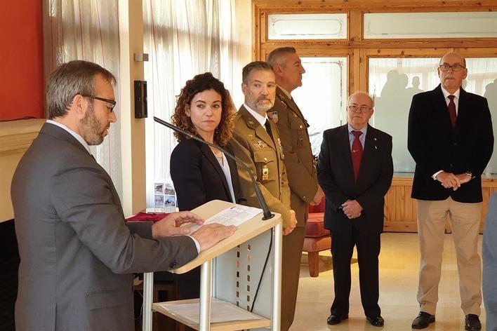 La Delegación de Defensa en Baleares entrega premios y diplomas en su 25 aniversario