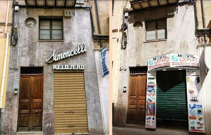 ARCA critica la retirada de un 'letrero emblemático' en Palma ante 'la pasividad municipal'