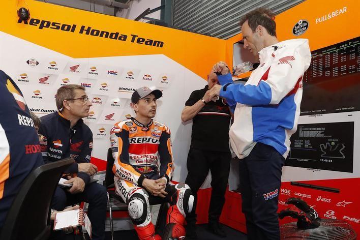 Jorge Lorenzo: 'El test de Jerez debería ayudarme a mejorar y entender más la Honda'