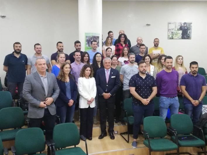 29 agentes participan en el primer curso de especialización en violencia de género