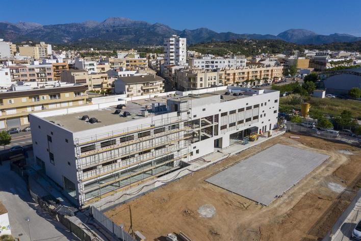 Las obras del nuevo Hospital Sant Joan de Déu de Inca finalizarán en septiembre