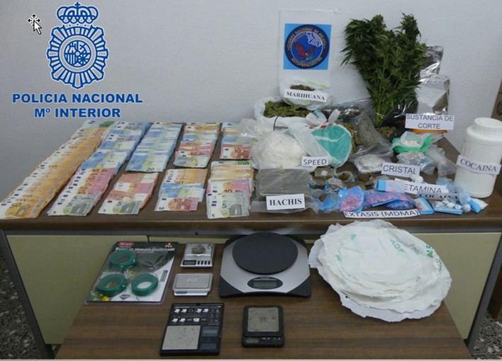 Desarticulado en Menorca un grupo criminal dedicado al tráfico de drogas