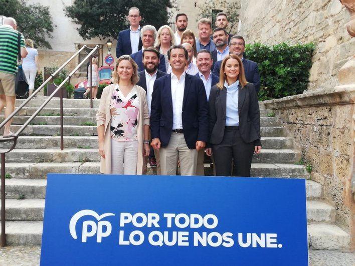 Company exige a Armengol que no sea 'equidistante' respecto al independentismo y 'rompa el pacto' con Més
