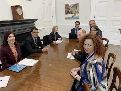 Negueruela presenta en Londres el decreto contra el turismo de excesos 'como una medida que defiende el sector'