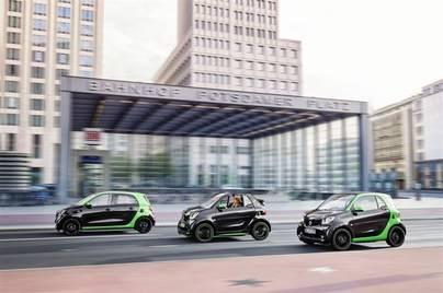 La gama eléctrica de Smart llega al Automobile Barcelona