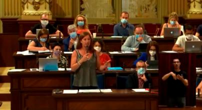 Armengol justifica que Sánchez no prorrogue los ERTE como en Canarias porque