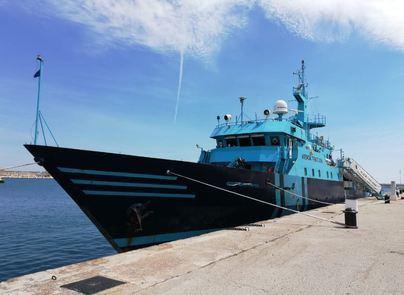 Recala en Palma un buque de Aduanas especializado en operaciones antidroga