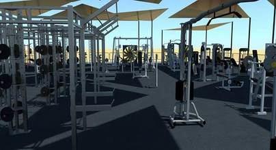 Magaluf tendrá el gimnasio exterior más grande del mundo