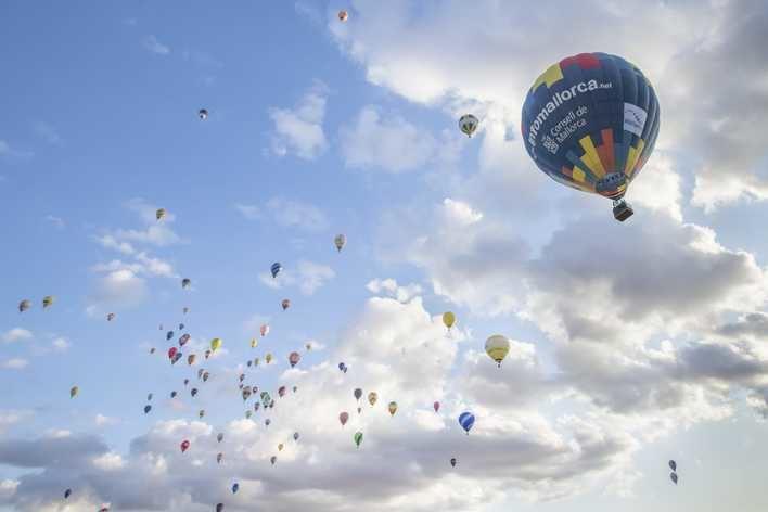 Espectacular Campeonato de Europa de globos aerostáticos en Manacor