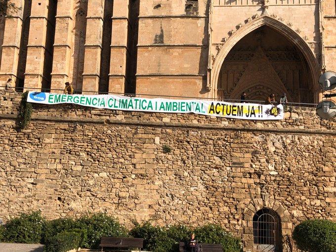 GOB y Terraferida exigen al Govern 'hechos y no palabras' contra el cambio climático