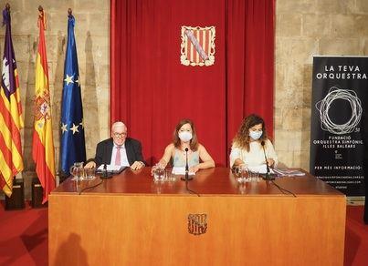 La Fundación Kühne dona dos millones para la futura sede de la Orquesta Sinfónica de Baleares