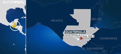 Mueren 32 personas al ser atropelladas por un camión en Guatemala