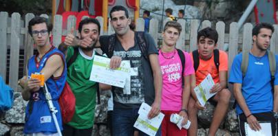 La mitad de los participantes completan el trayecto del 'Des Güell a Lluc a peu'