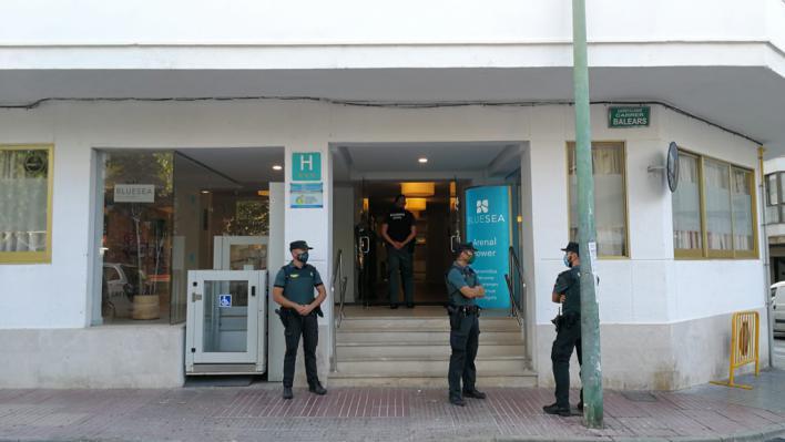s'Arenal clama ante el hotel para contactos estrechos de Covid
