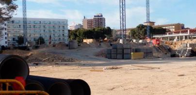 Vecinos de Platja de Palma denuncian que las obras de un hotel secan pozos