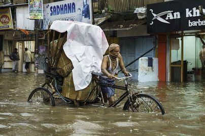 Al menos 190 muertos por fuertes lluvias en India