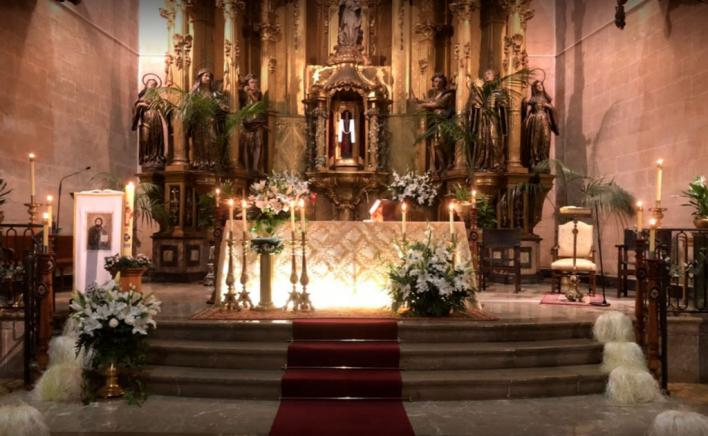 Detenida por insultar y agredir a sacerdotes y feligreses de Palma