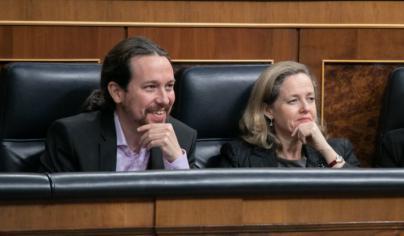 Calviño y la ocultación de la fusión Bankia-CaixaBank a Iglesias: