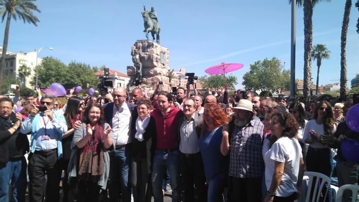 Pablo Iglesias visitará Palma el 1 de noviembre en su primer acto de campaña electoral