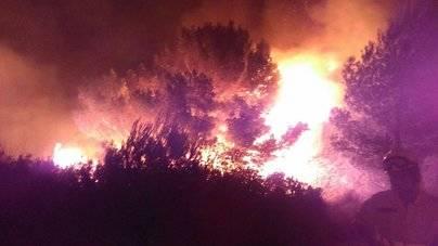 Estabilizado el incendio en Menorca