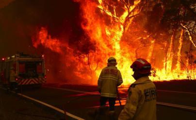 Incendios en Australia: despligue de Fuerzas Armadas para atender a los afectados