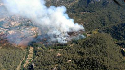 El Llevant y parte del Migjorn están en alerta por riesgo extremo de incendios