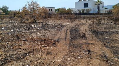 Detenido un hombre de 74 años por quemar varios solares en el Secar de la Real