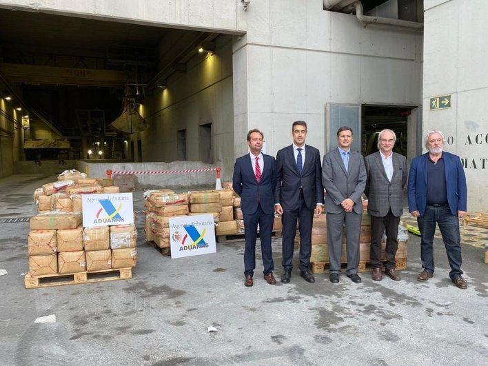 Incineran seis toneladas de hachís, el mayor decomiso de esta droga en Baleares