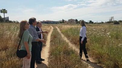 Isern promete incorporar 90.000 metros cuadrados de Can Angelí al Parque de Sa Riera