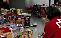 Alcampo recogió 2.000 juguetes en su campaña navideña
