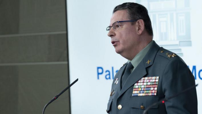 Dimite el número dos de la Guardia Civil tras el cese de Pérez de los Cobos por Marlaska