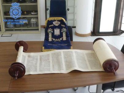 La Policía Nacional recupera en Ibiza un libro sagrado de la comunidad judía