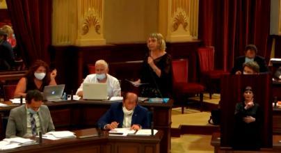 Lina Pons sobre la prórroga de los ERTE en Canarias: 'Madrid menosprecia a Baleares'