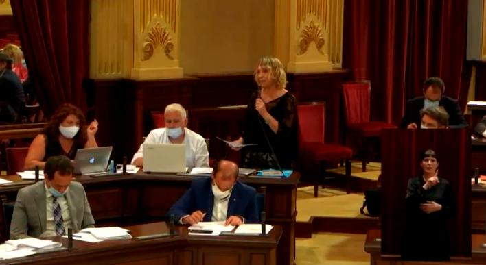 Lina Pons sobre la prórroga de los ERTE en Canarias: