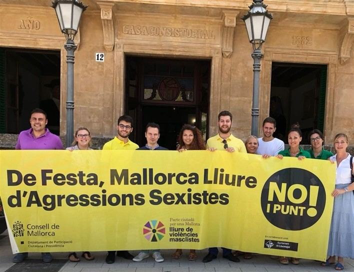 Llucmajor se adhiere a la campaña 'No i punt!' para evitar las agresiones sexistas