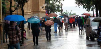 Cambio brusco del tiempo en Mallorca