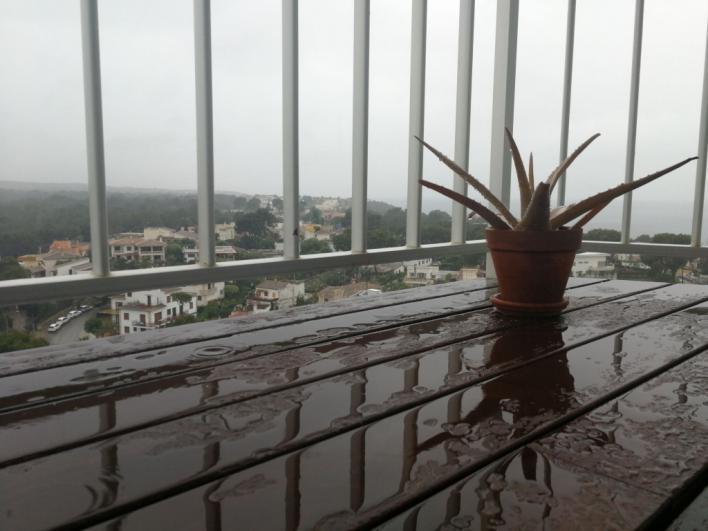 Lluvias y tormentas este lunes en Baleares
