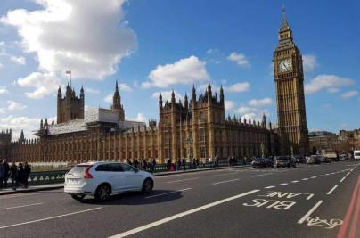 Londres cobra una tasa a vehículos contaminantes para entrar al centro