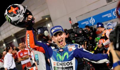 Lorenzo sentencia ante Rossi y Márquez