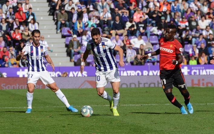El Mallorca se estrella en Valladolid al caer por 3-0