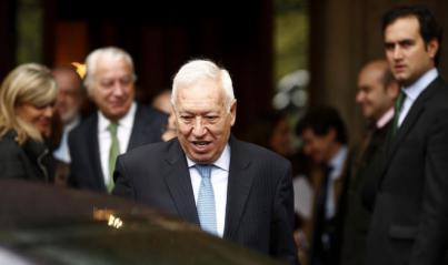 Margallo, dispuesto a suspender la autonomía catalana