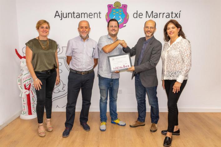 Marratxí recibe el distintivo SG City 50-50 de igualdad de género