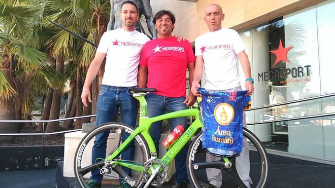 Jos� Manuel L�pez correr� 1.000 km en 50 horas en bicicleta por Mallorca