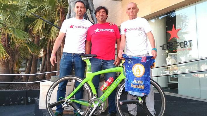 José Manuel López correrá 1.000 km en 50 horas en bicicleta por Mallorca