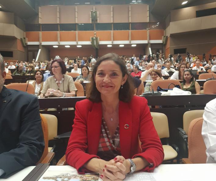 Maroto escenifica en Cuba el apoyo del Gobierno a las hoteleras afectadas por los cambios de Trump