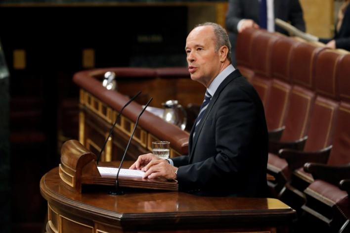 El ministro de Justicia defiende la ausencia del Rey en Barcelona por la