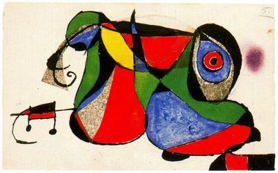 Localizada una obra de Joan Miró cuando iba a ser subastada en Londres