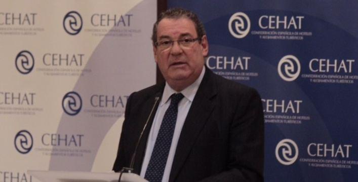 Juan Molas, presidente de la Confederación Española de Hoteles y Alojamientos