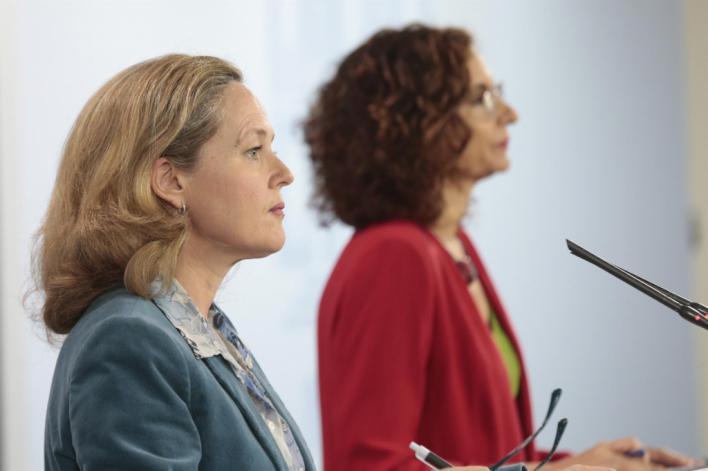 El Gobierno prevé un desplome del 9,2 por ciento de la economía española este año