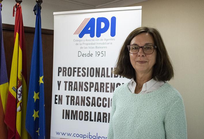 Natalia Bueno es la nueva presidenta del Colegio de Agentes de la Propiedad Inmobiliaria